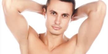 Ventajas de la depilación de las axilas en hombres